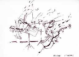 R Izdebski's sketch of the Instruments